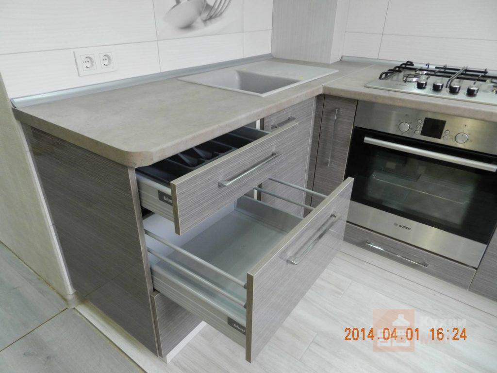 Кухня Антрацит