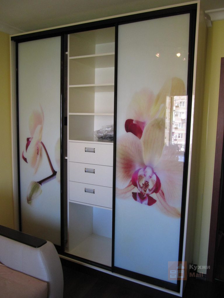 Шкаф-купе Орхидеи