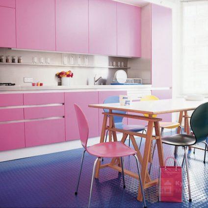 Кухня Розовый фламинго
