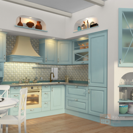 Кухня Мятный пончик